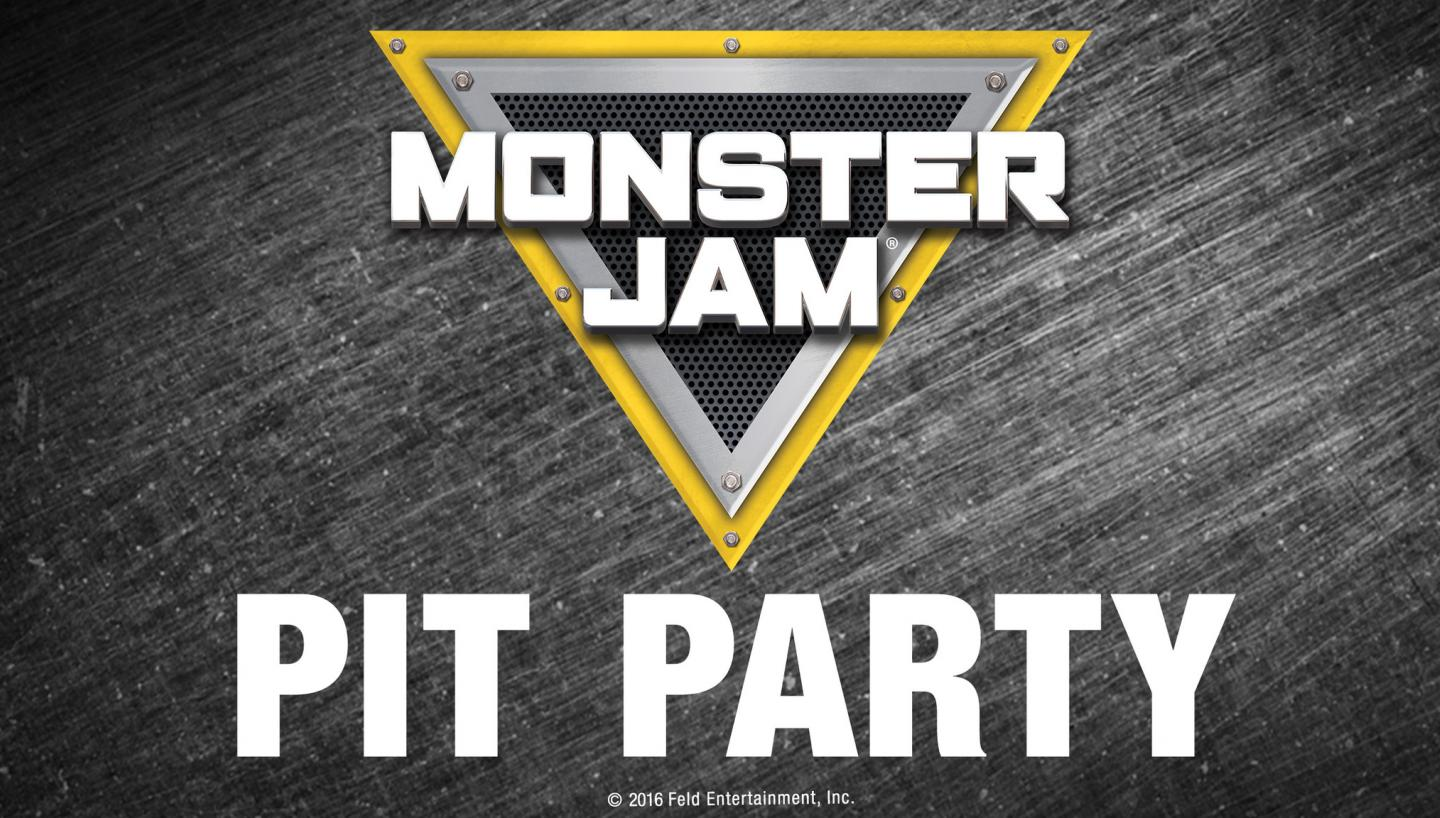 Monster Jam Pit Pass: Preshow Pit Party From 11:30am - 1:00PM