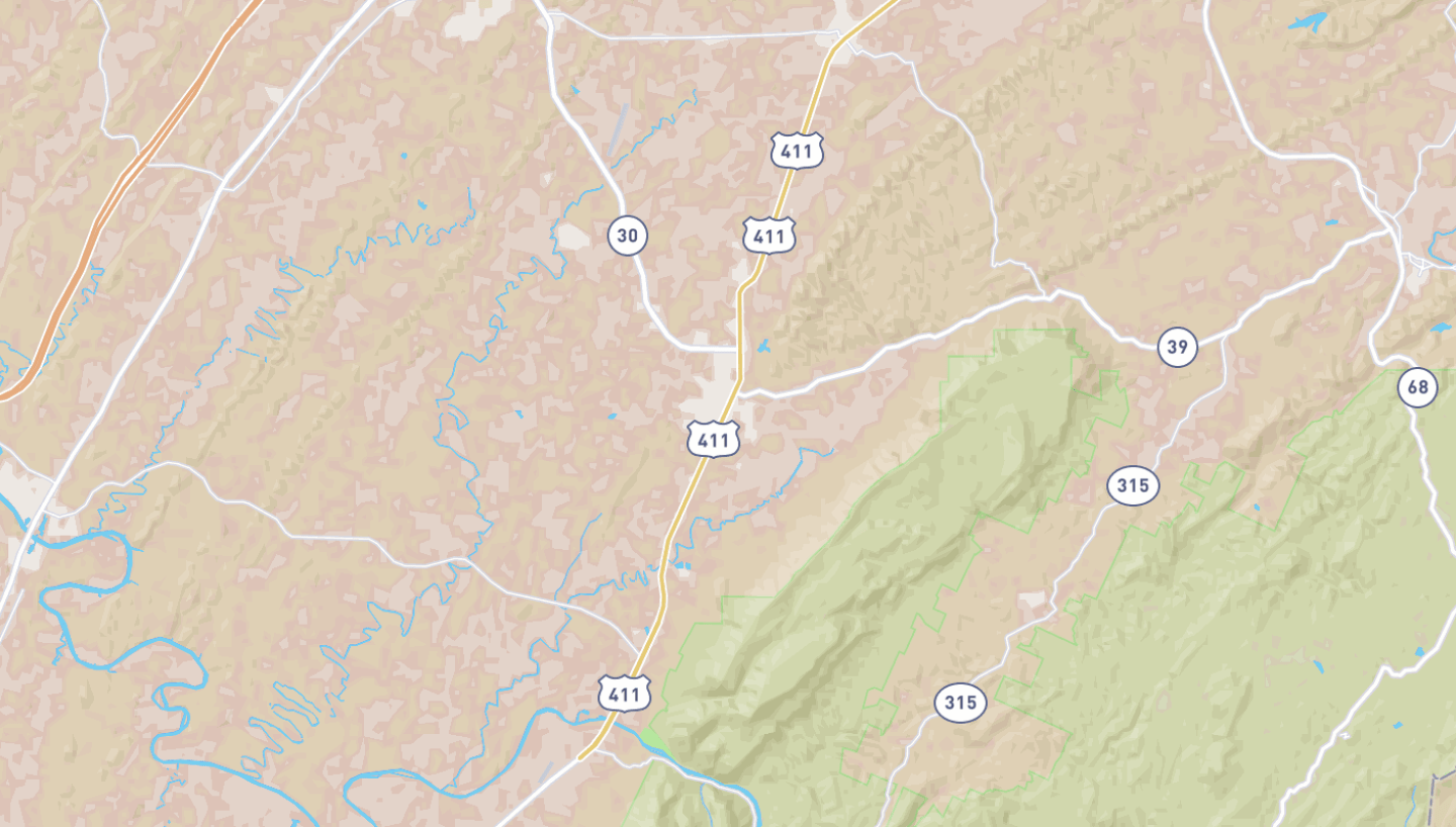 Agriculture Trail in the Tennessee Overhill