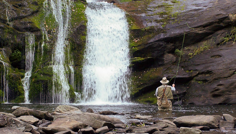 bald river falls in tellico plains  tn