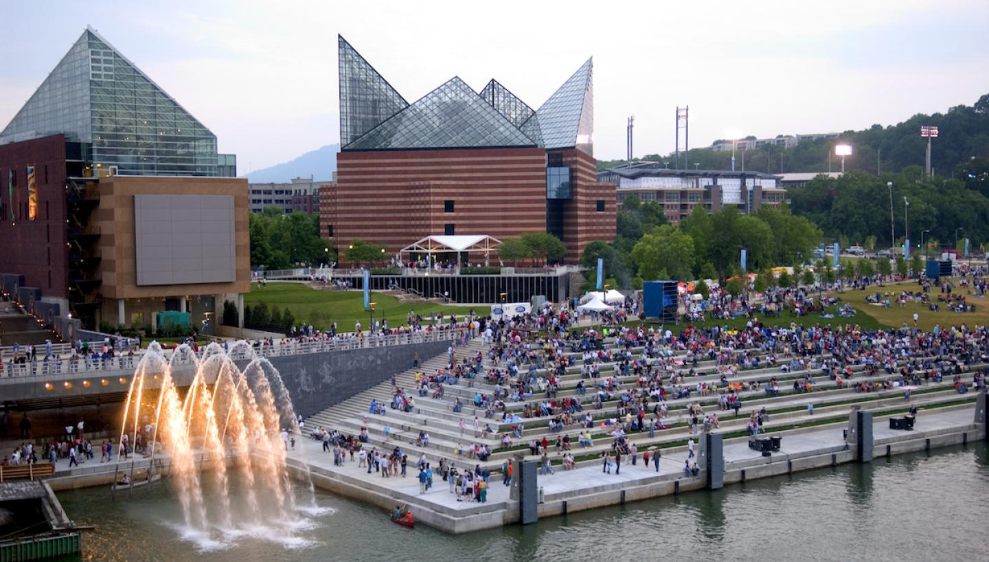 River Front District, Chattanooga