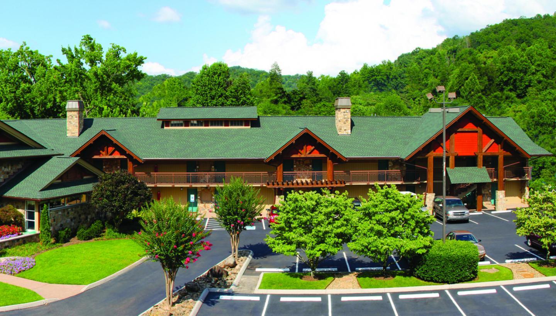 Greystone Lodge on the River Gatlinurg, Tennessee