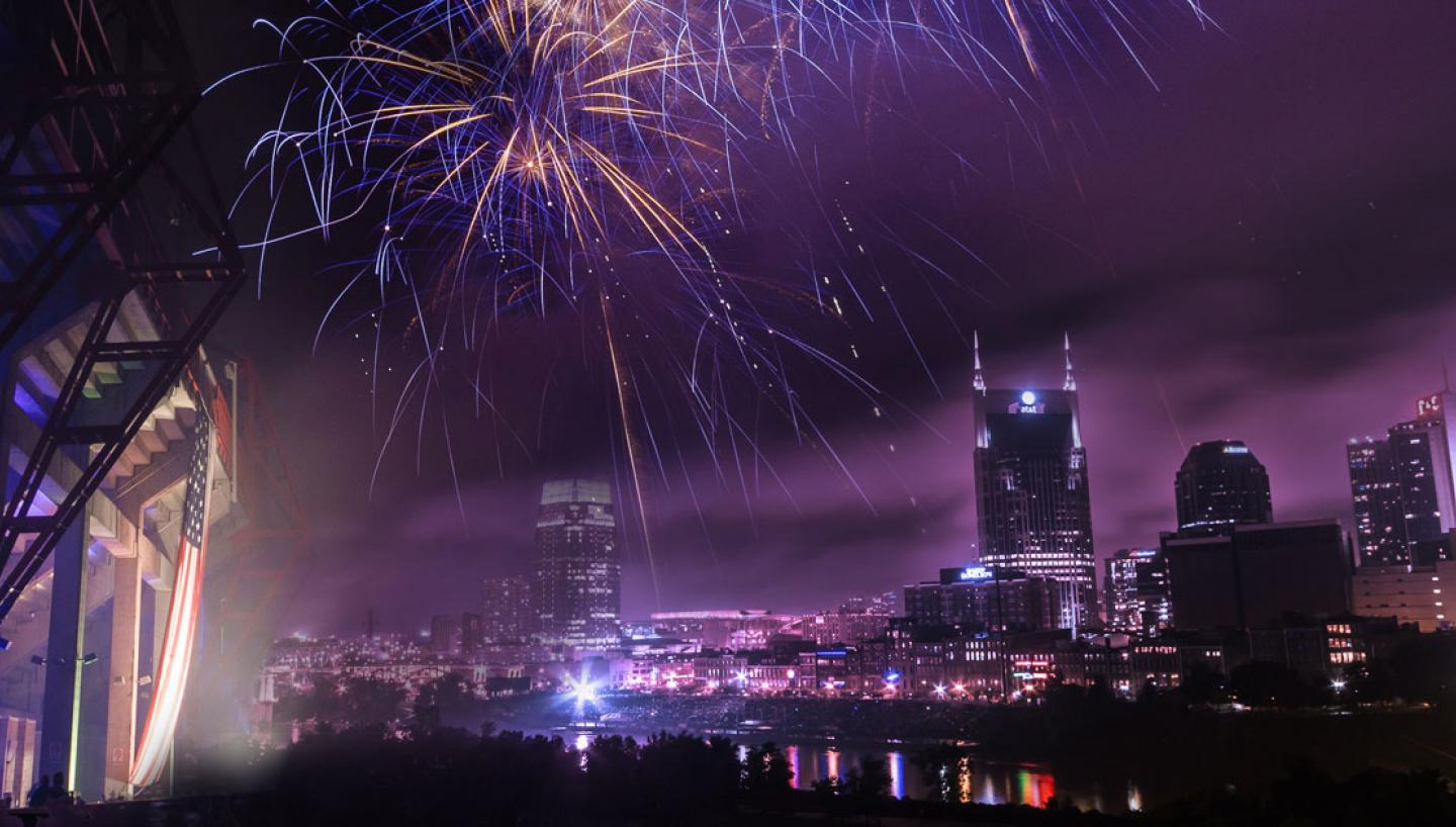 Let Freedom Sing! Music City July 4 Presented by Dr. Pepper Cherry