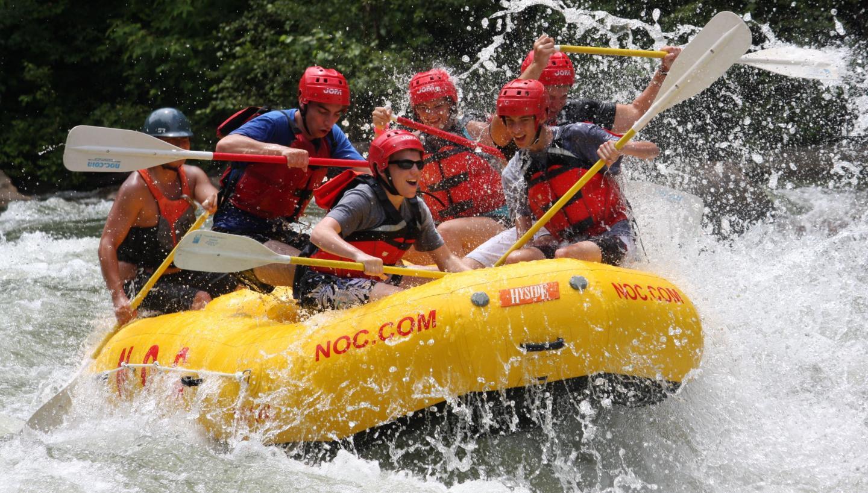 NOC Ocoee River Whitewater Rafting