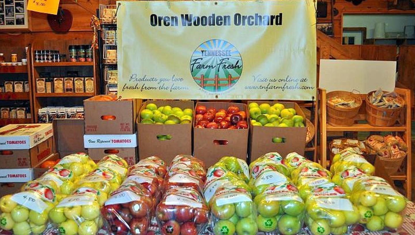 Oren Wooden's Apple House in Pikeville, TN - Tennessee Vacation
