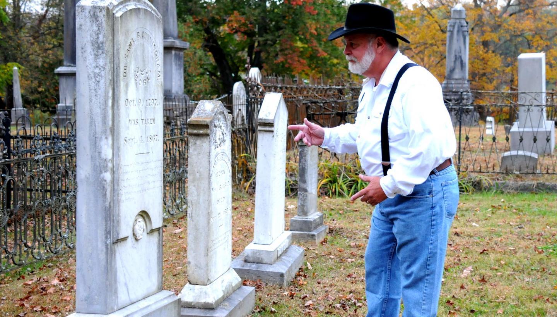 Old Jonesborough Cemetery Tour