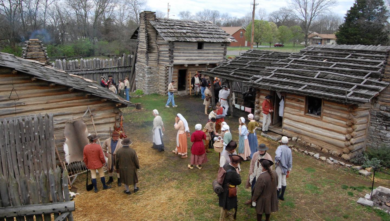 Historic Mansker's Station Frontier Life Center