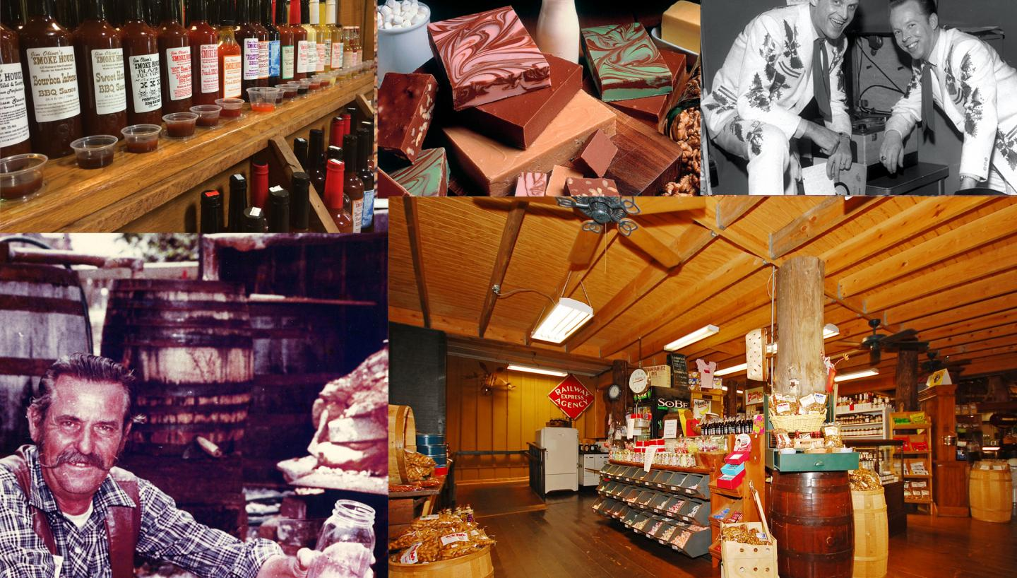 Trading Post & Old General Store at the Smoke House