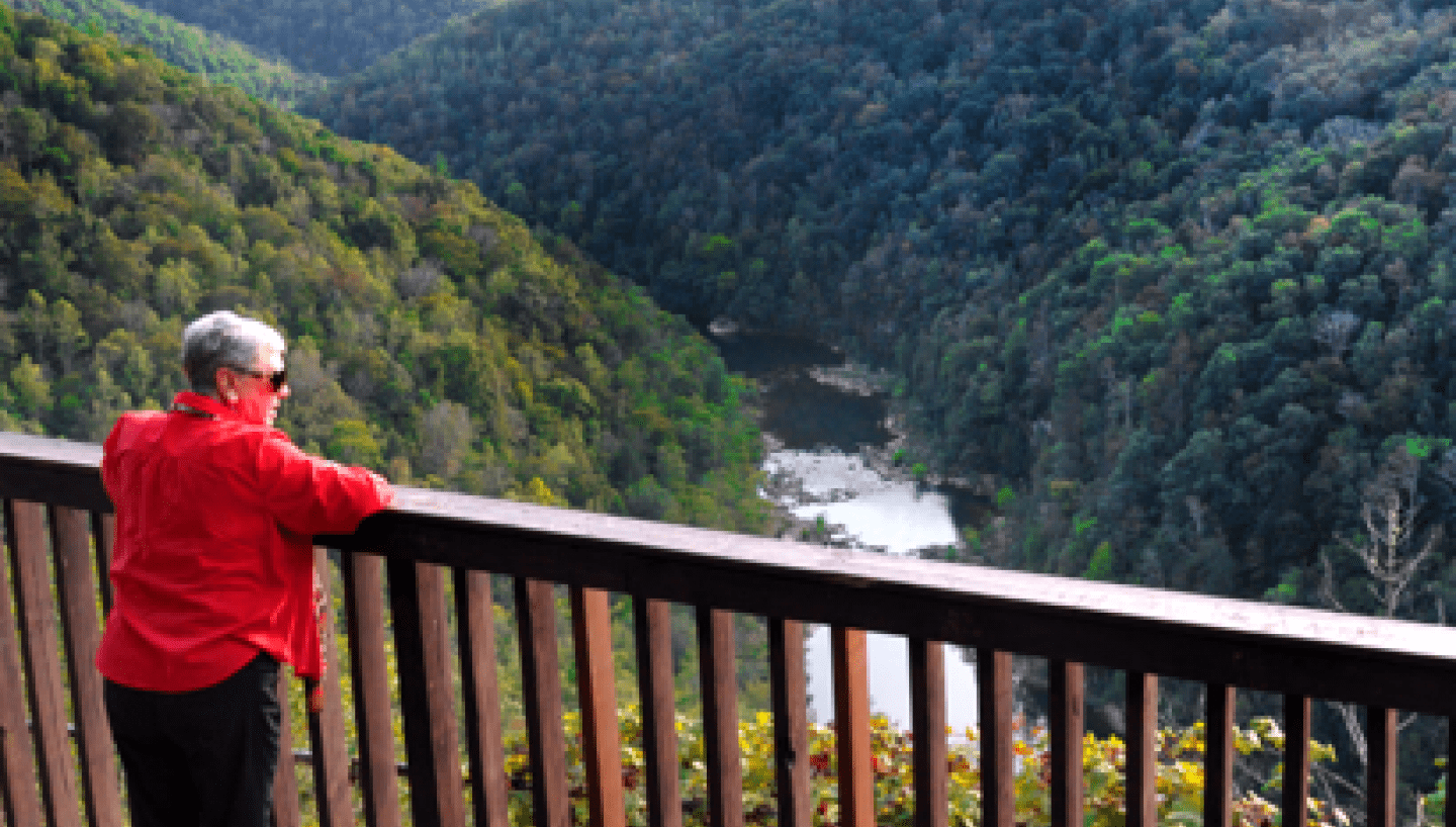 Big South Fork National River And Recreation Area In