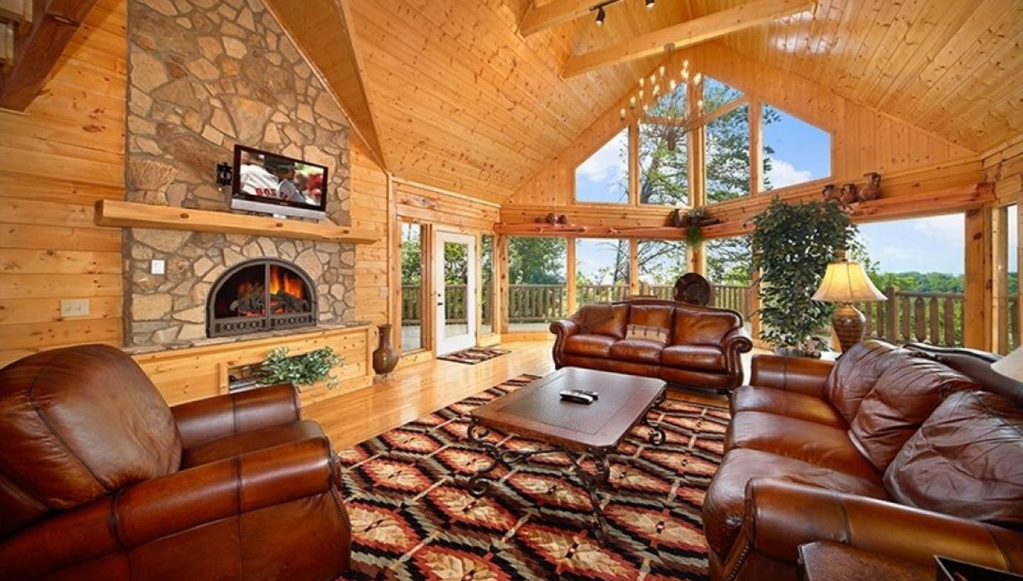 Cabins usa in pigeon forge tn tennessee vacation for Secluded cabin rentals near nashville tn