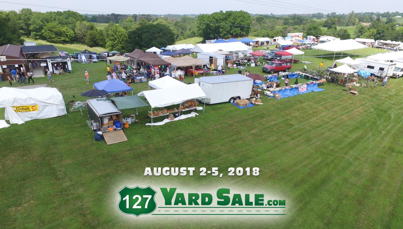 127 Yard Sale The World S Longest Yard Sale In