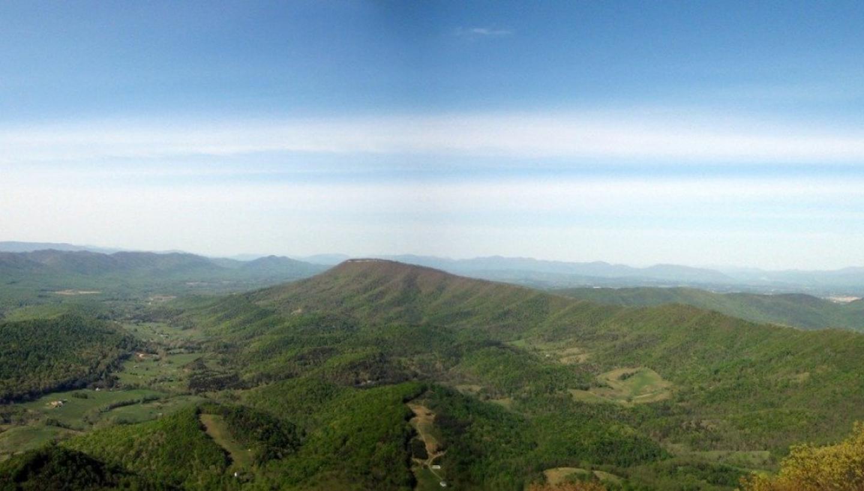 Appalachian National Scenic Trail In Gatlinburg Tn