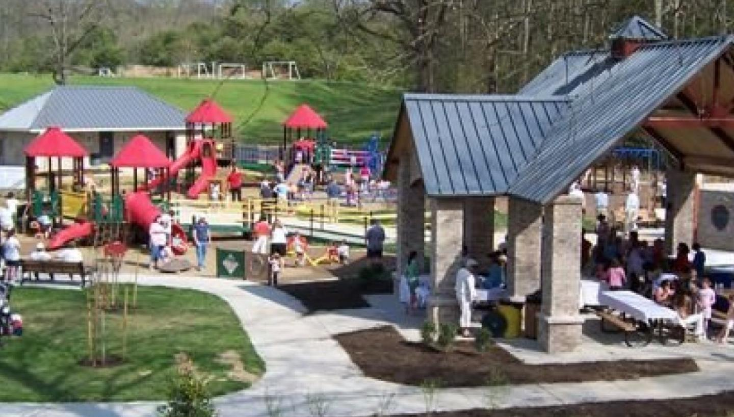 Friends of Warriors' Path State Park Boundless Playground Complex