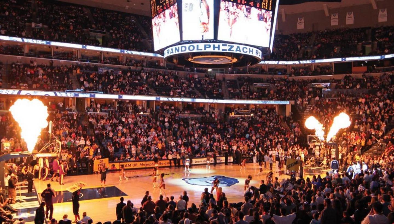 The Memphis Grizzlies/FedExForum