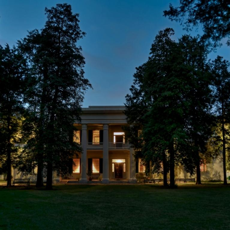 Hermitage Mansion at Night