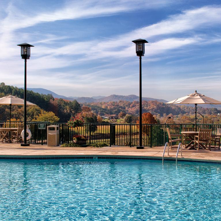 Sevierville, TN - Wyndham Smoky Mountains, Outdoor Pool