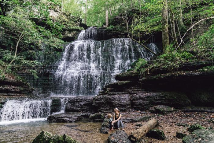 Machine Falls in Short Springs Natural Area, Tullahoma, Tennessee