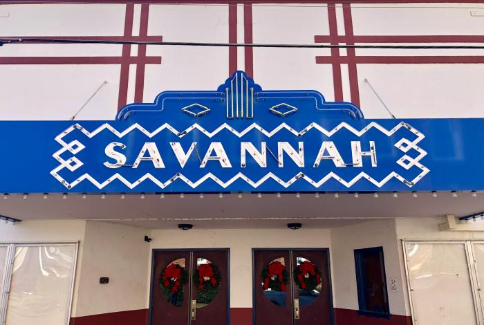 Savannah Theater in downtown Savannah, Tennessee