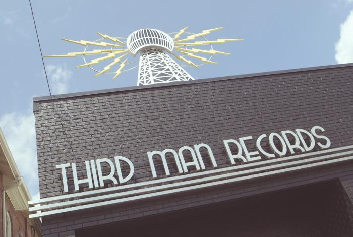 Third Man Record front entrance