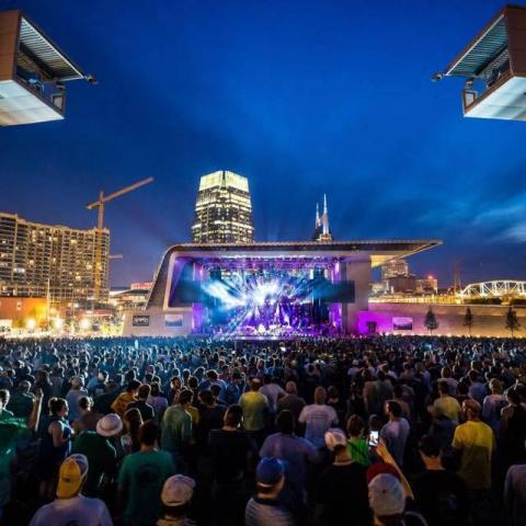 Outdoor Music Venues Playing the Soundtrack of America, Made in Tennessee