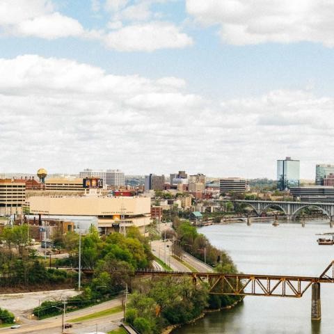Knoxville's skyline