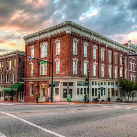 Downtown Greeneville TN