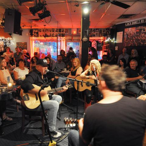 A Songwriter In the Round at Bluebird Cafe in Nashville