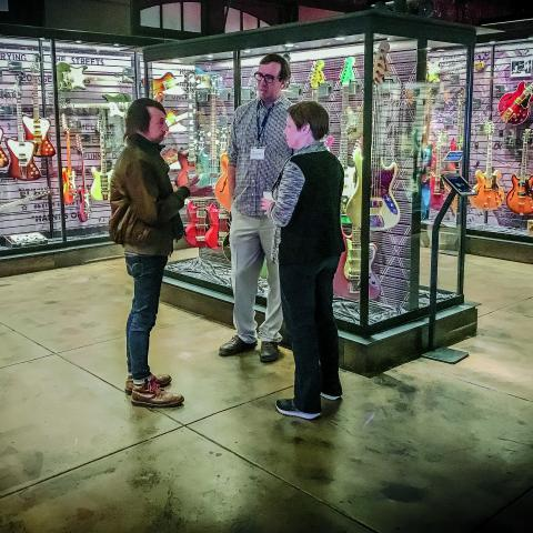 Songbirds Guitar Museum, Chattanooga, photo credit: Lawrence G. Miller