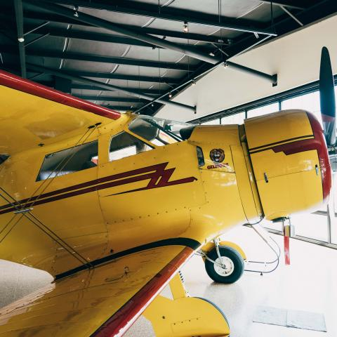 An aircraft at Beechcraft Heritage Museum in Tullahoma, TN