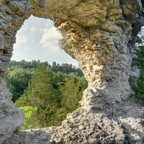 Window Cliffs, photo credit Chuck Sutherland