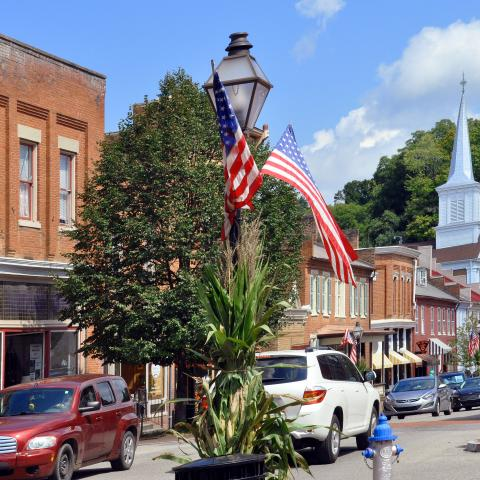 Downtown Jonesborough, Tennessee