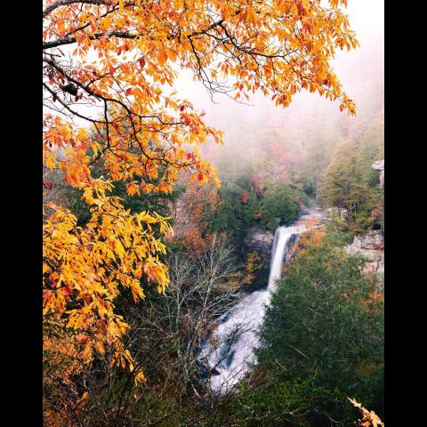 Piney Creek Falls in Spencer, TN