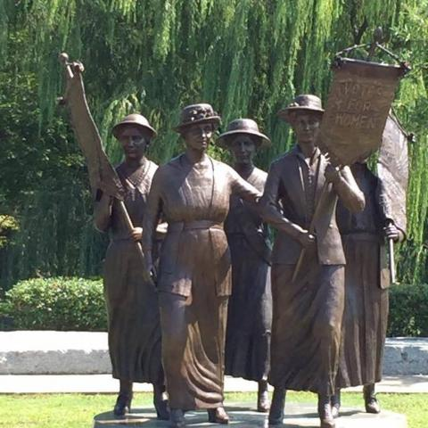 Women's Suffrage Statue, Nashville