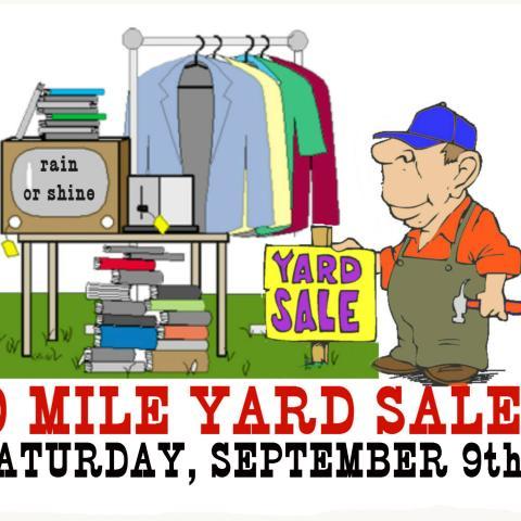 30 Mile Yard Sale