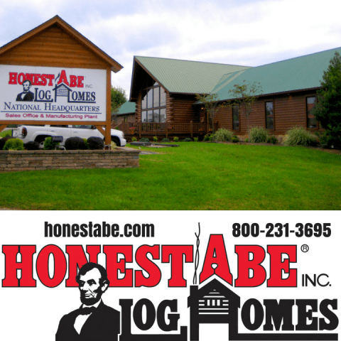 Honest Abe Log Home Raising and Mill Tour on Oct. 20