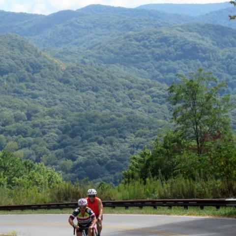 Cherohala Skyway Bike Tour
