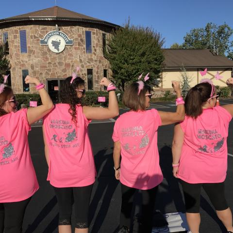 STOMP Out! Breast Cancer Awareness Walk
