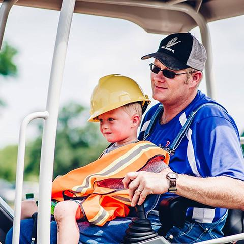 Kids get your hard hats on and join us at the Kid's Construction Fun Fest at Lucky Ladd Farms!
