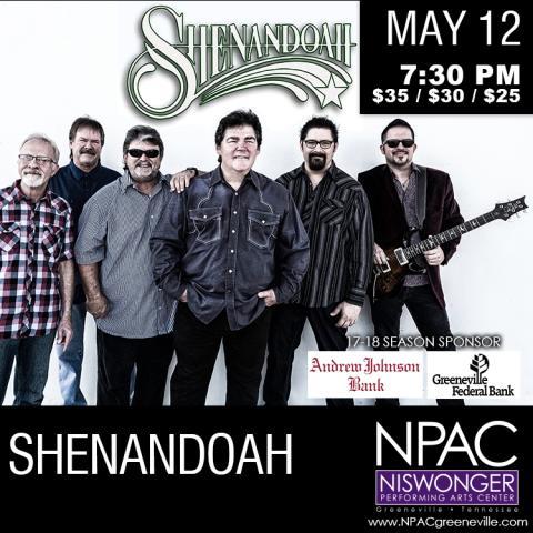 Shenandoah at the Niswonger Performing Arts Center