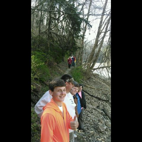 Spring Hike @ Standing Stone State Park