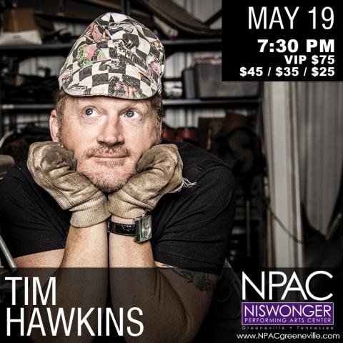 Tim Hawkins at the Niswonger Performing Arts Center