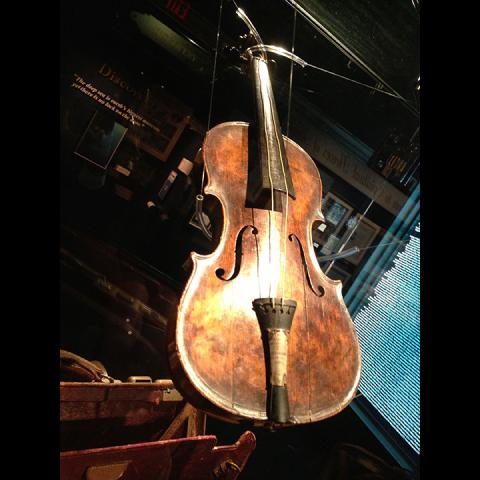 See the $1.7 Million Dollar Titanic Violin on Display Now!