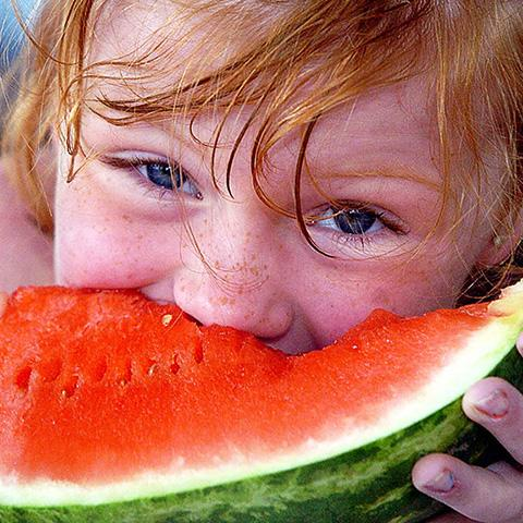 Crawl on down to Lucky Ladd's Watermelon Festival.