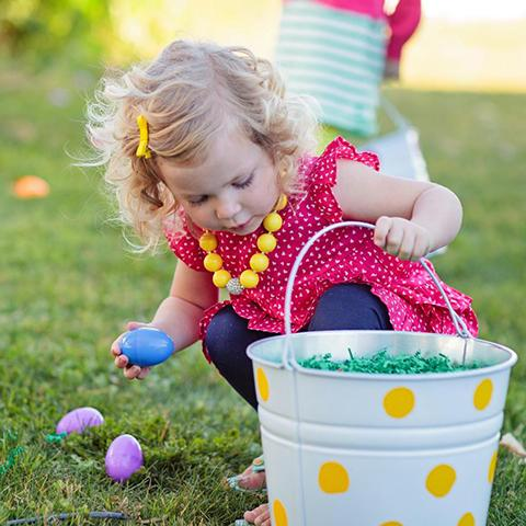 Get hopping to the Spring Festival and non-stop Easter Egg Hunts at Lucky Ladd Farms!