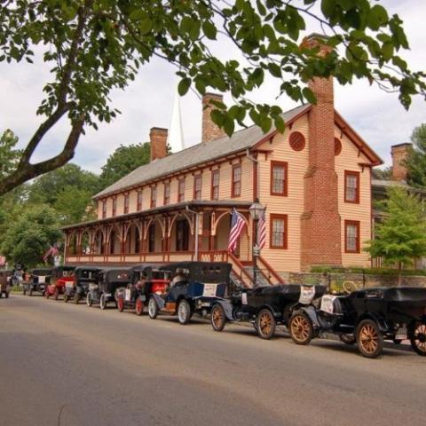 Jonesborough Historic District and Visitors Center
