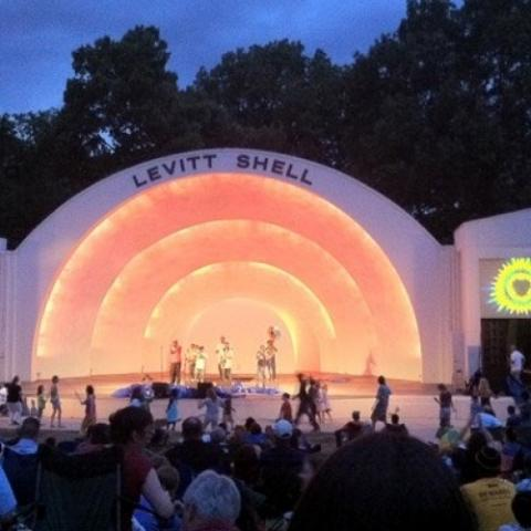 Levitt Shell, Overton Park