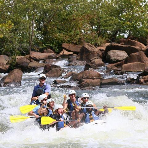 Outland Expeditions Ocoee River Rafting