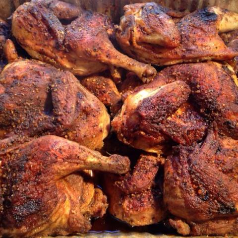 Smoked Chicken Legs