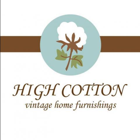 Logo of High Cotton Vintage in Manchester, TN