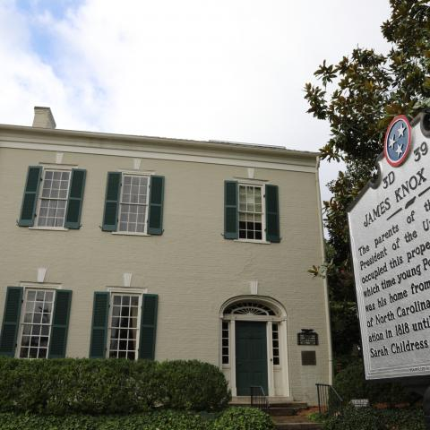 Tour the home of the 11th  U.S. President James K. Polk