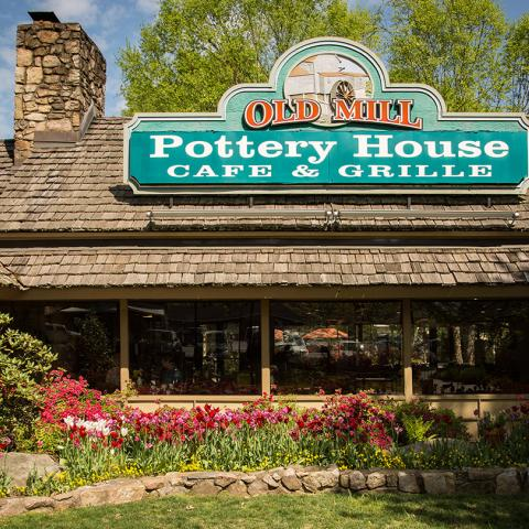 The Old Mill Pottery House Cafe & Grille